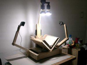 Escáner DAL, para digitalización de libros