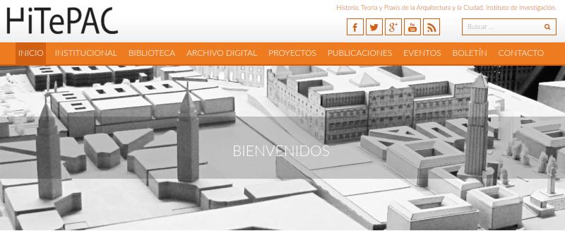 Portal web del HITEPAC